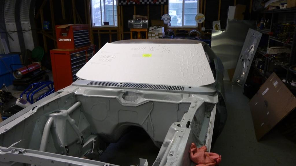 lexan windshield mustang