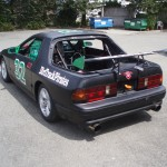 RX-7 Chump Car - rear