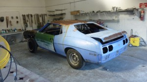 javelin at the paint shop