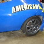 1974 AMC Javelin race car crash damage