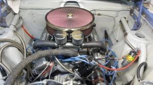1974 AMC road race Javelin AMX engine bay